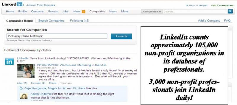 Why LinkedIn Company Pages Matter to Nonprofits Part 2 of 5-part series