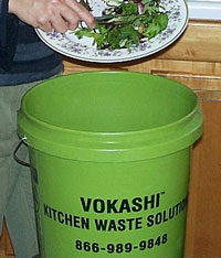 Vokashi: Fermenting Food Waste, Eliminating Garbage