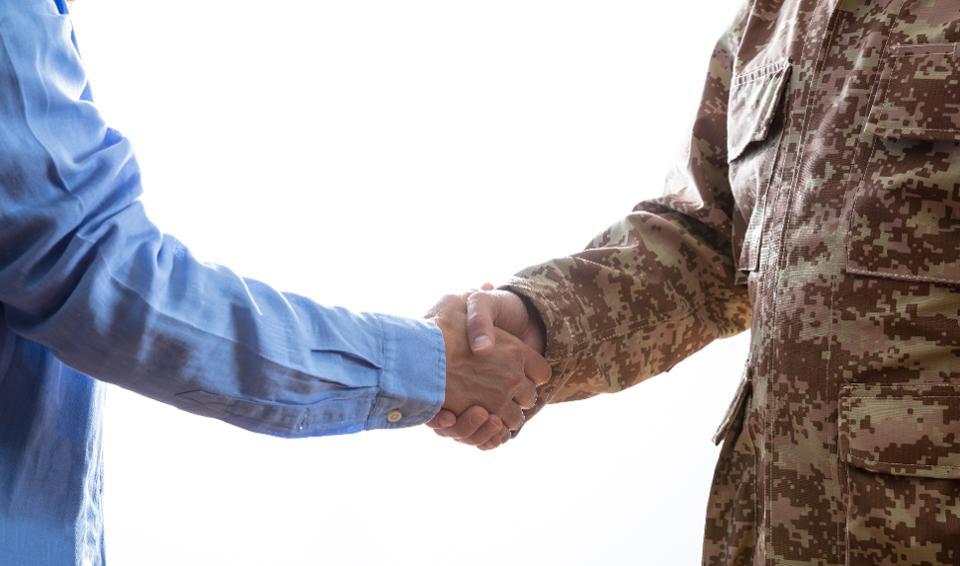 How Hiring Veterans Wins The War For Tech Talent
