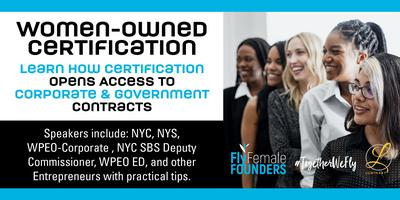 Women-Owned Certification Opens Doors to Corporate and Government Contracts